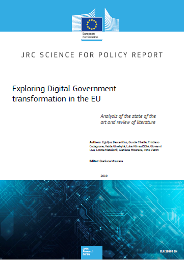 Report: Exploring Digital Government transformation in the EU | Joinup