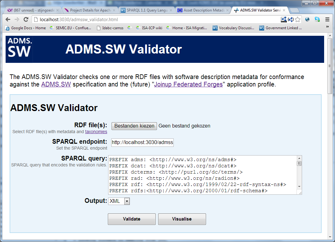 Just released: ADMS SW Valida… | Joinup