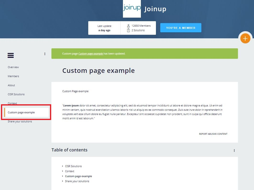 custom-page-examples