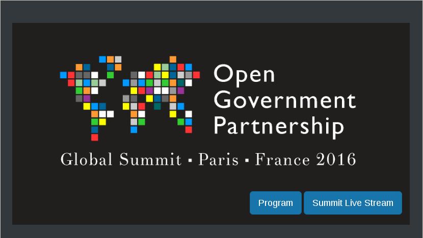 The OGP Summit in Paris