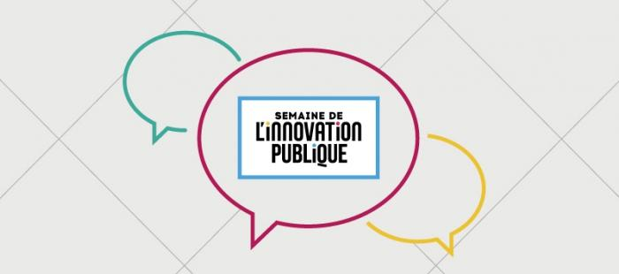 The logo for France's Week of Public Sector Innovation