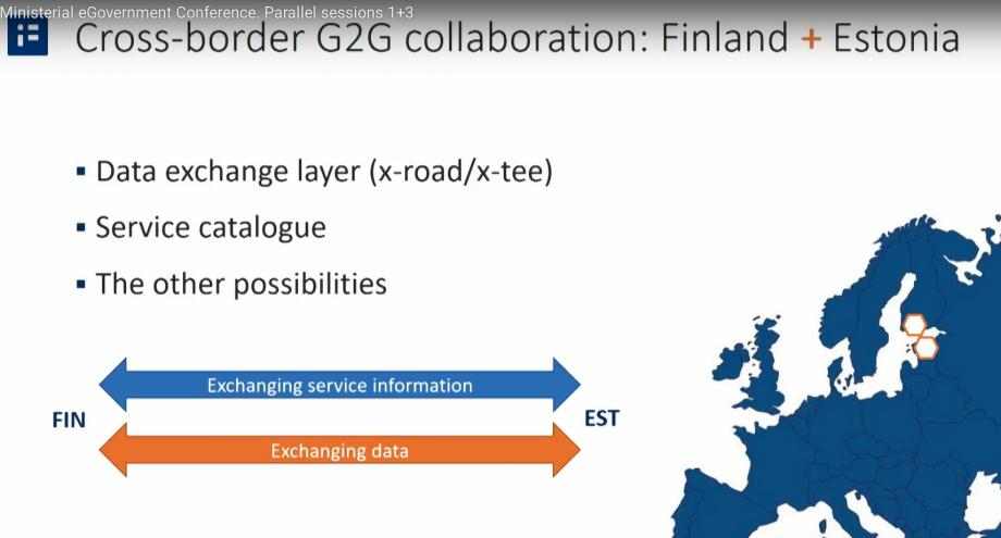 Finland and Estland on the X-Road together