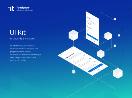 The Italian Kit for UI Design in Government - an example project by Designers Italia