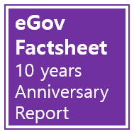 eGovernment Factsheets 10-year Anniversary Report page